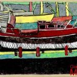 """""""DEA 2 """" - 1997, pennarelli-marker, 29x21 cm."""