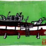 """""""DEA 3 """" - 1997, pennarelli-marker, 29x21 cm."""