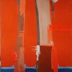 ANTIFAULING-SKY II - 1986, tecnica mista, 90x123 cm.