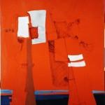 ANTIFAULING-SKY III - 1986, tecnica mista, 90x123 cm.
