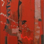 ANTIFAULING-SKY - 1986, lacca su lesonite 53x100 cm.